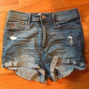 High Waisted Jean Shorts Size 7
